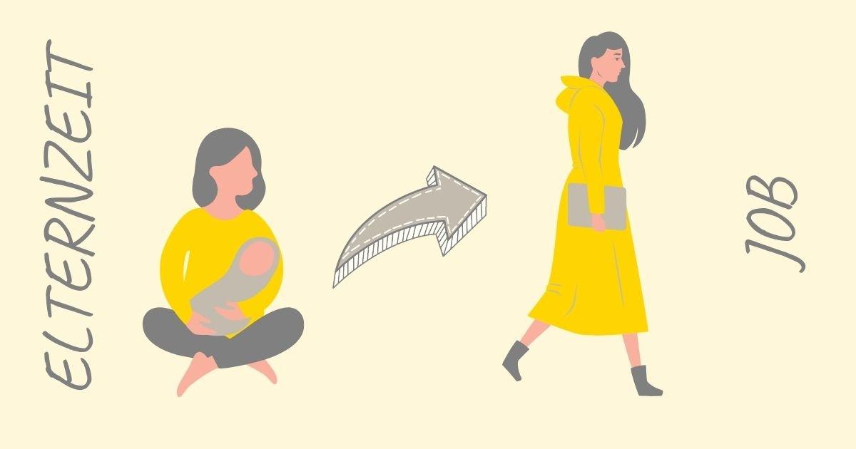 Wiedereinstieg nach der Elternzeit. Diese Probleme können auftreten